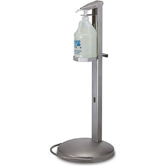 Foot-Activated Hand Sanitizer Dispenser