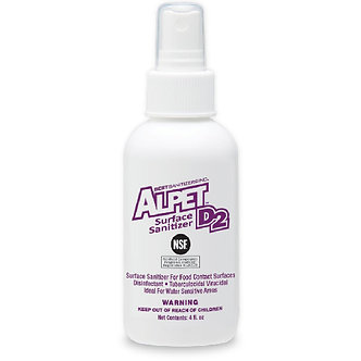 Alpet D2 Surface Sanitizer/Disinfectant Spray 4-oz.