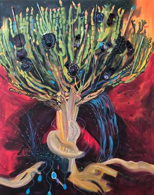 the candelabra tree