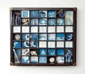 'Miniature Cyanotypes'