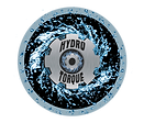hydrotorque wheel with black circle and