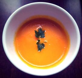 Zupa-krem z marchewki