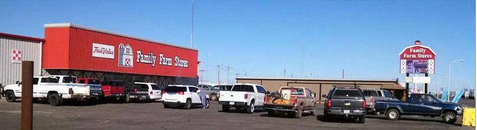 Family Farm Store Dumas Texas Storefront