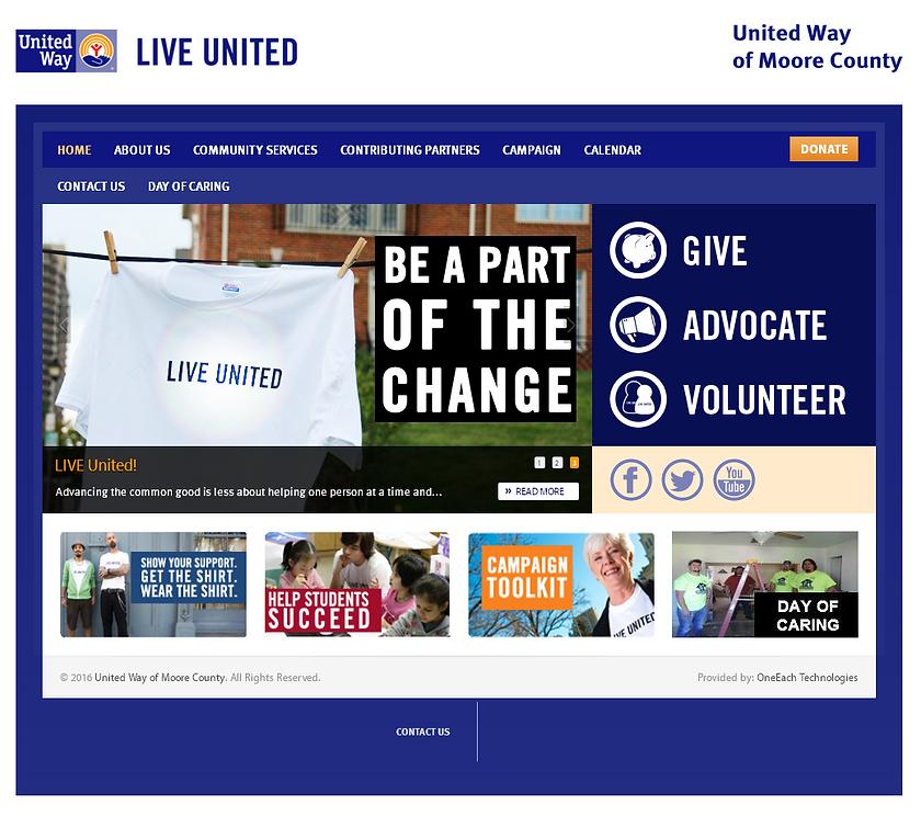 Dumas, Texas United Way Website