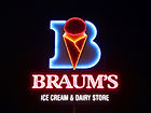 Braum's Ice Cream & Hamurger Restaurant in Dumas, Texas