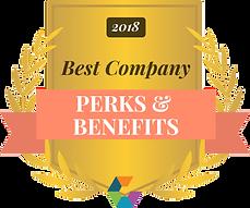 Comparably Award_2018_Perks and Benefits