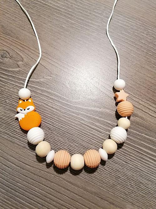 """Stillkette""""Fuchs Orange"""""""