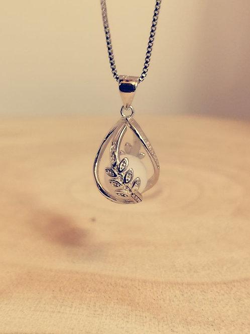 925er Sterling Silber Käfig Blume