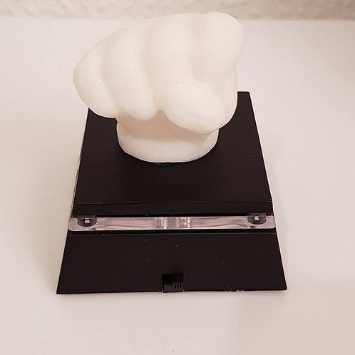 3d Handabdruck aus Muttermilch