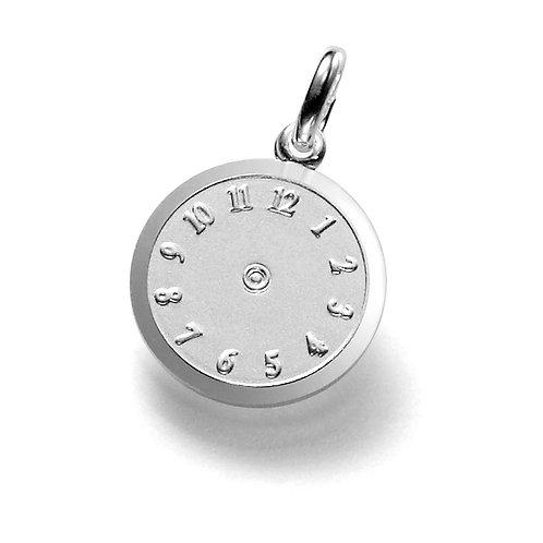 Geburtsuhr 925er Sterling Silber