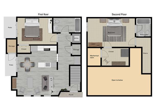 The Cleawater floor plan