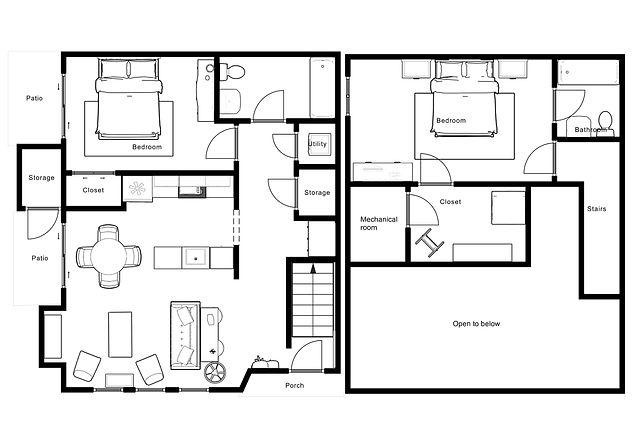 The Clearwater floor plan