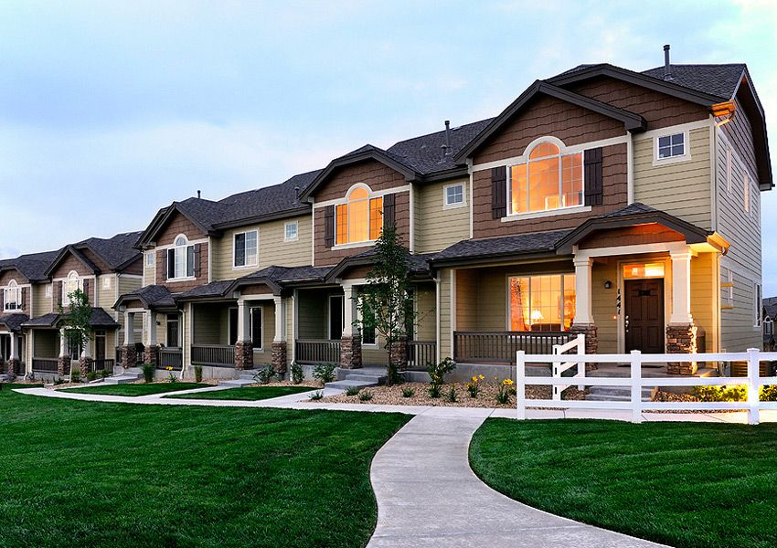 Patio townhomes