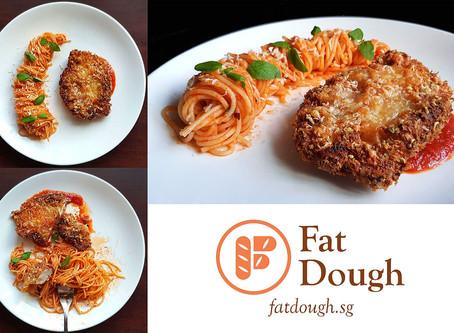 Chicken Parmesan + Spaghetti - Sponsored By Alce Nero