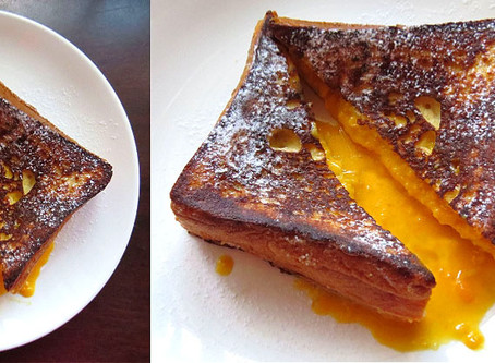 Salted Egg Lava French Toast