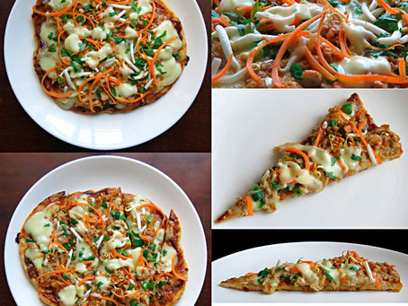 My Grilled Pizza: The Thai Chicken Satay