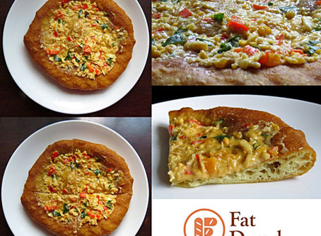 My Pizza Fritta: The Salted Egg Crab