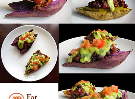 Mexican Sweet Potatoes Toast