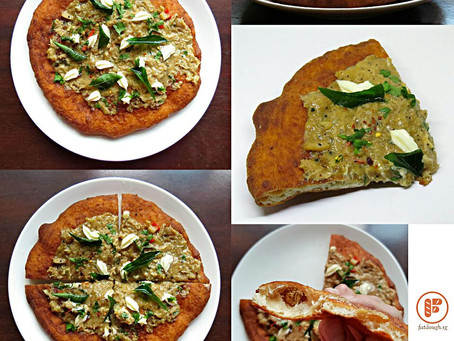 My Pizza Fritta: The Singapore Black Pepper Crab