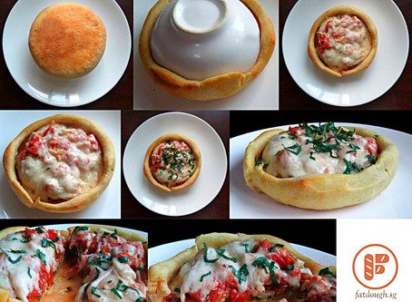 Chicago Pizza Pot Pie