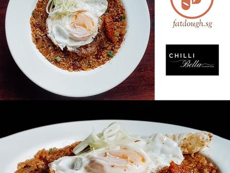 Bak Kwa Sambal Nasi Goreng | Jerky Sambal Fried Rice