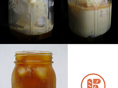 Cold Brewed 3 Layered Tea