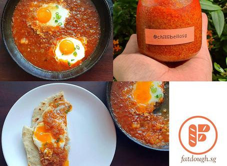 Sambal Poached Eggs | Sambal Telur Pecah
