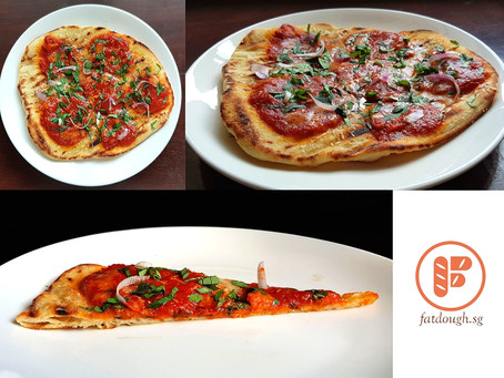 My Grilled Pizza Homage: George Germon's Grilled Pizza Margherita - Sponsored By Alce Nero