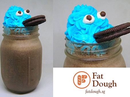 Halloween Special: Cookie Monster Milkshake