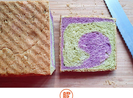 How To Make Singapore Swirl Bread