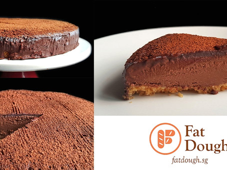 Frozen Chocolate Gateau - Sponsored by Nature's Superfoods