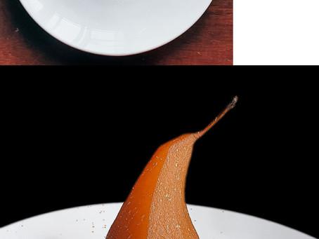 Poire Belle Hélène Chocolate Tart