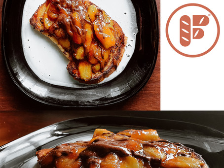 Jacques Pépin's French Toast with Banana & Chocolate