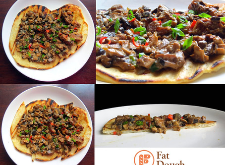 My Grilled Pizza: The Sizzling Vegan Sisig