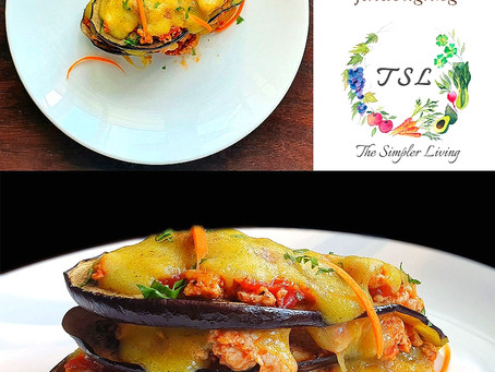 Eggplant Lasagna - In Partnership with The Simpler Living