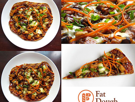 My Grilled Pizza: The Moo Shu Chicken