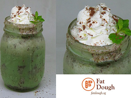 Mint Chocolate Chips Milkshake