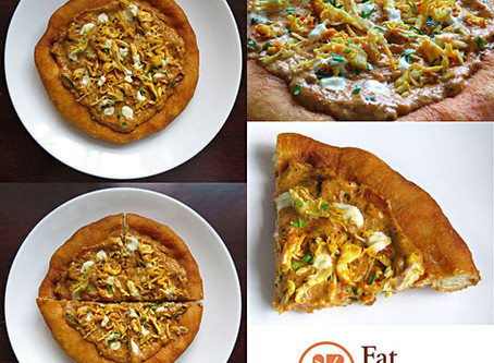My Pizza Fritta: The Chicken Rendang