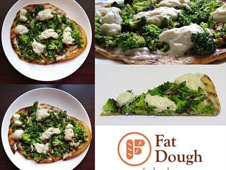 My Grilled Pizza: The Broccoli
