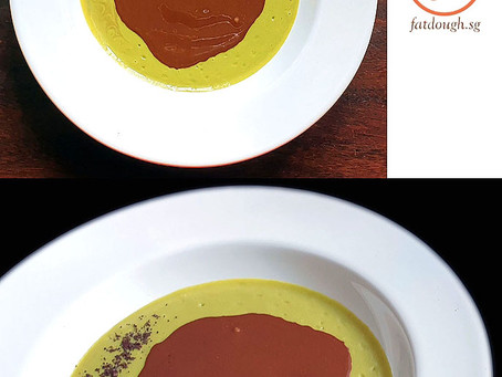 Avocado Chocolate Dessert Soup
