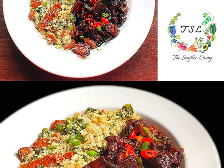 Sizzling Vegan Sisig - In Partnership with The Simpler Living