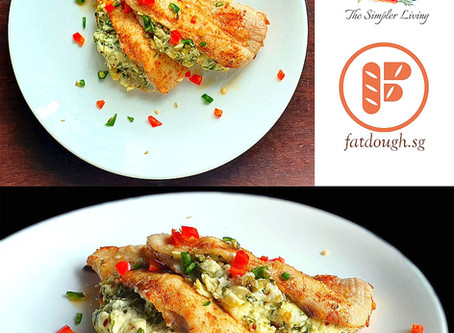 Stuffed Chicken Breast - In Partnership with The Simpler Living