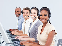 multi-ethnic-customer-service-representa