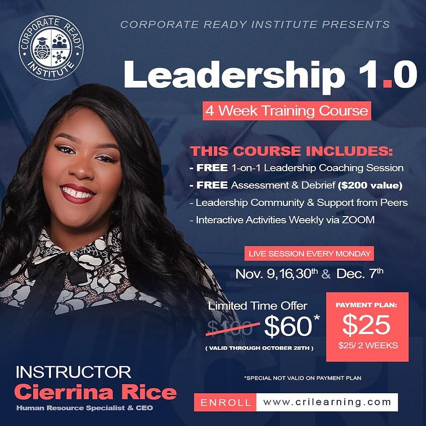Leadership 1.0 Course