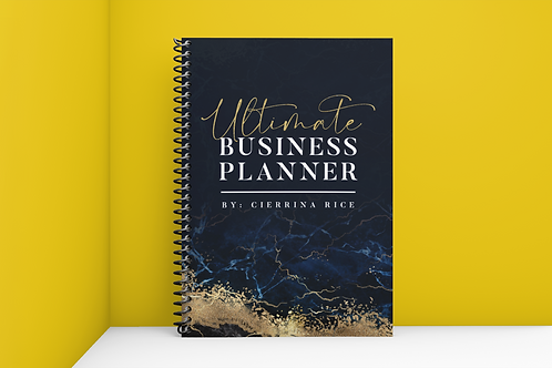 Ultimate Business Planner (12 MNTH - UNDATED)