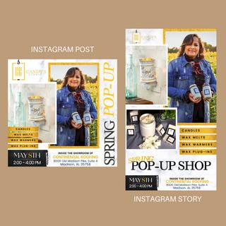 IG Post + Story Graphics