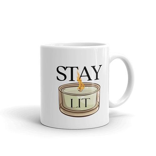 Stay Lit Glossy Mug