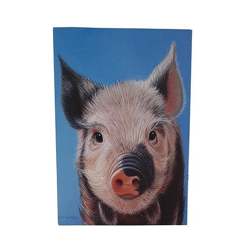 A6 Pig Notebook