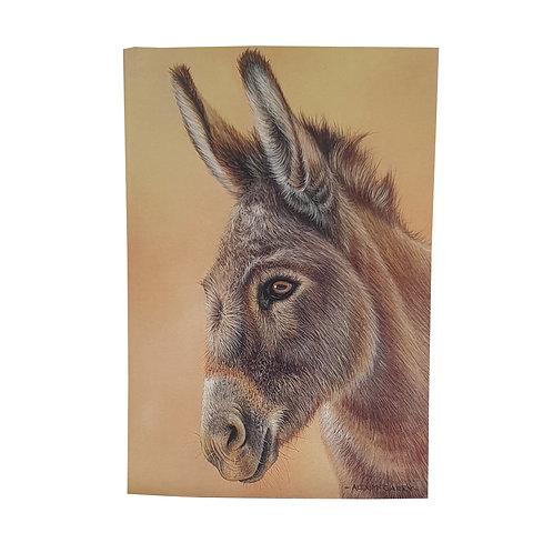 A6 Donkey Notebook