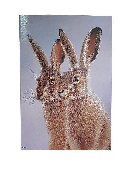 A5 Hare Notebook